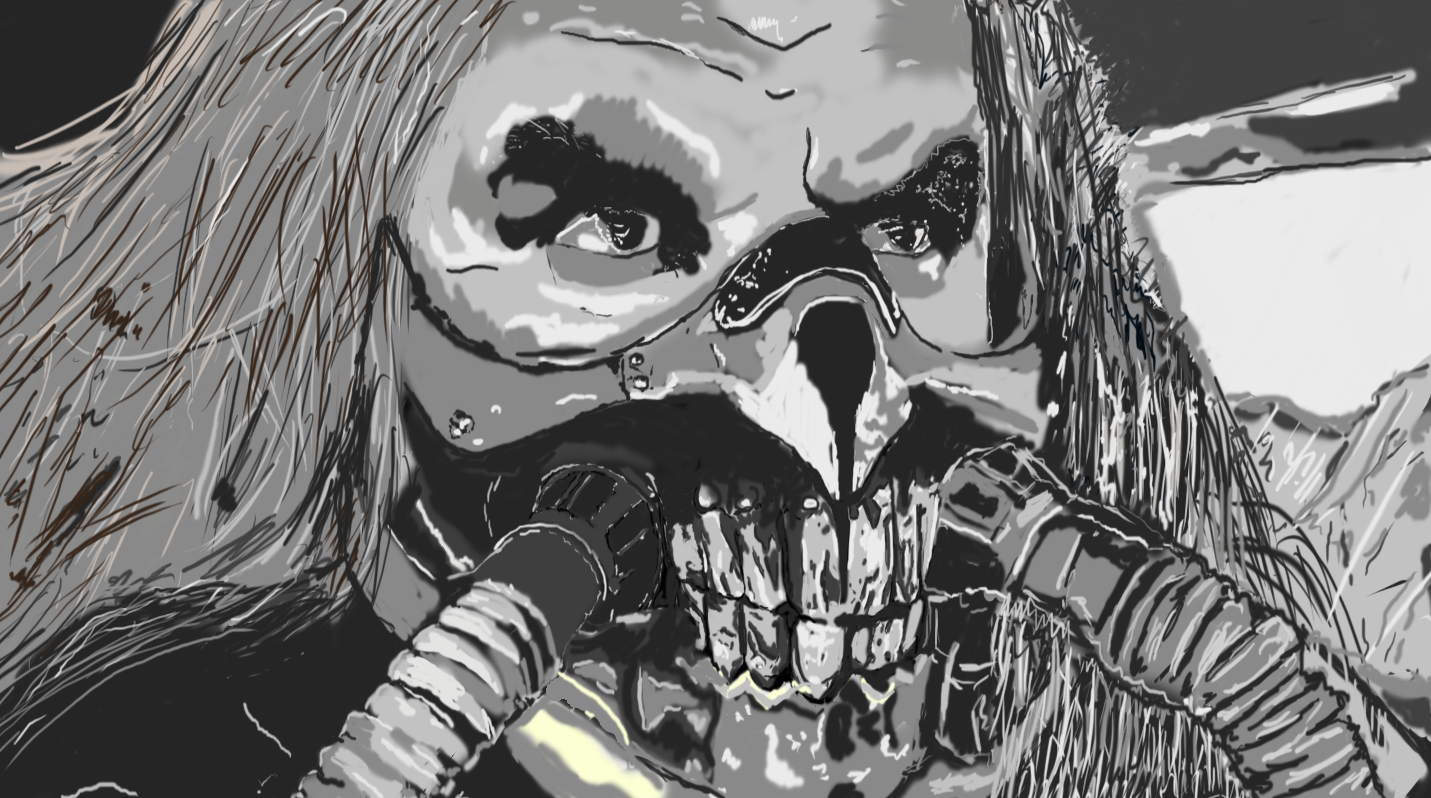 Immortan Joe Painting - Greys